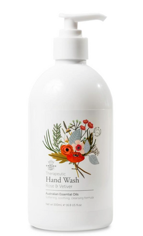 Therapeutic Rose & Vetiver Hand Wash
