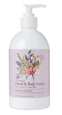 Therapeutic Eucalyptus & Lavender Hand & Body Lotion 500ml