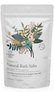 Therapeutic Mandarin & Bergamot Bath Salts 1 Kilo