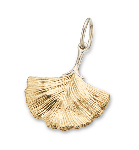 Gingko Leaf Charm