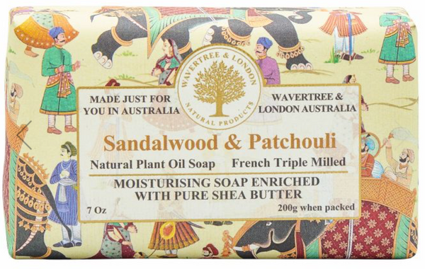 SANDALWOOD & PATCHOULI SOAP BAR