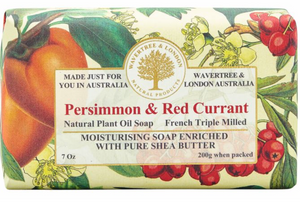 PERSIMMON & RED CURRANT SOAP BAR
