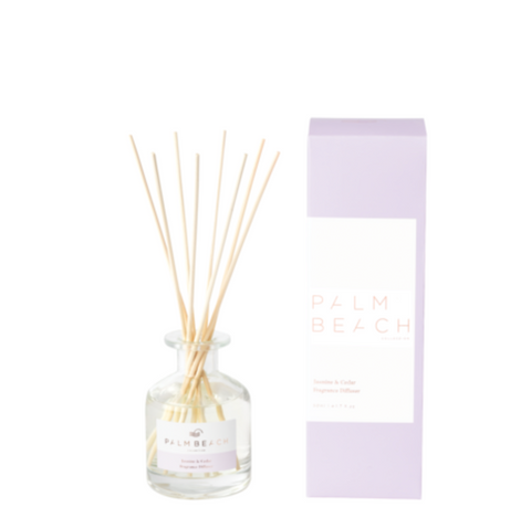 Jasmine & Cedar 50ml Mini Fragrance Diffuser