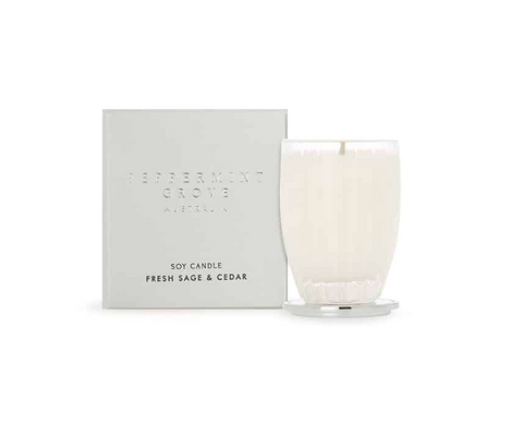 FRESH SAGE & CEDAR SMALL CANDLE 60g
