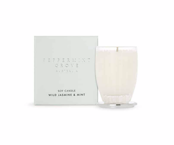 WILD JASMINE & MINT SMALL CANDLE 60g
