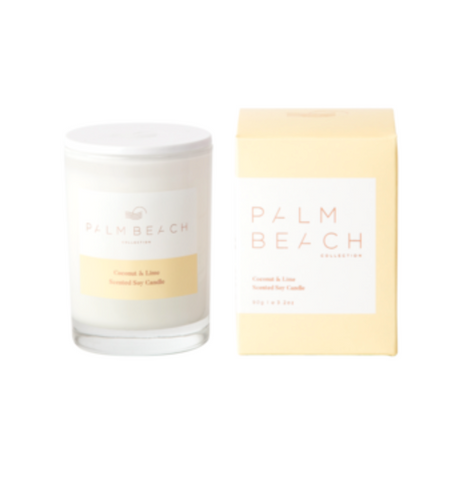 Coconut & Lime 90g Mini Candle