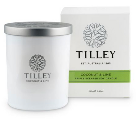 Coconut & Lime Soy Candle 240g
