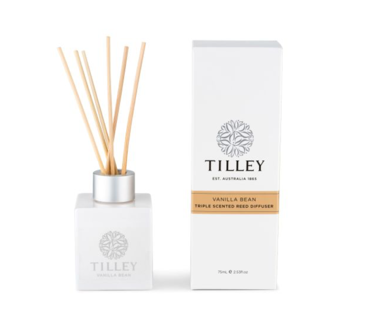 Vanilla Bean Aromatic Reed Diffuser 75ml