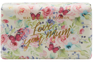 LOVE YOU MUM SOAP BAR - ENGLISH ROSE FRAGRANCE