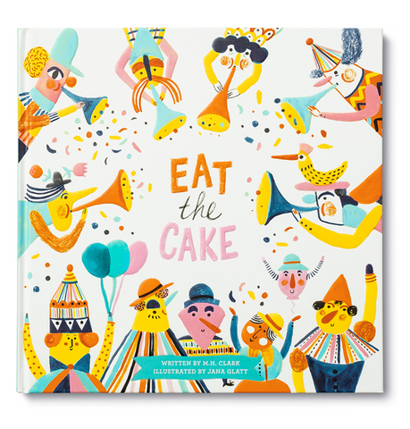 Book - Kids - Eat The Cake