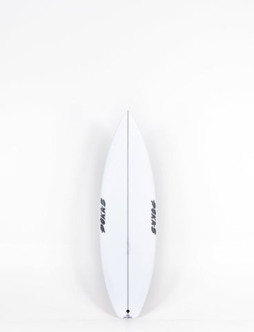 Tavola da surf Pukas Dark 5'11 Rail Color