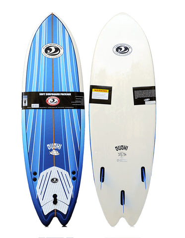 CBC Fish Softboard 6'2 Completa