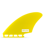 Deflow Twin Fin Keel Yellow