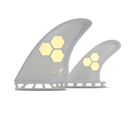 FUTURES FINS TWIN CHANNEL ISLANDS AMT HONEYCMB FIN SET