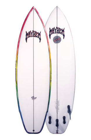 Lost Surfboards Rad Ripper 5'7 Futures Fins