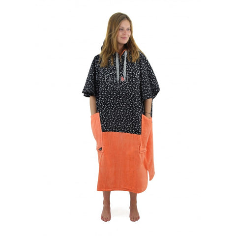 All-in Poncho Flash Line Orange