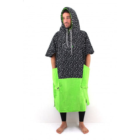 All-in Poncho Flash Line  Green