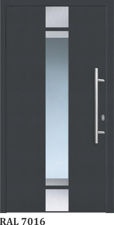 OR 400- Silver - GLASSWIN Front Doors