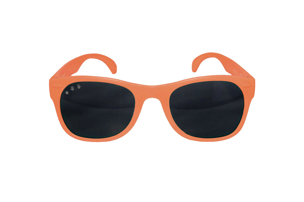 Roshambo Baby - DuckTales Orange Toddler Sunglasses - Polarized