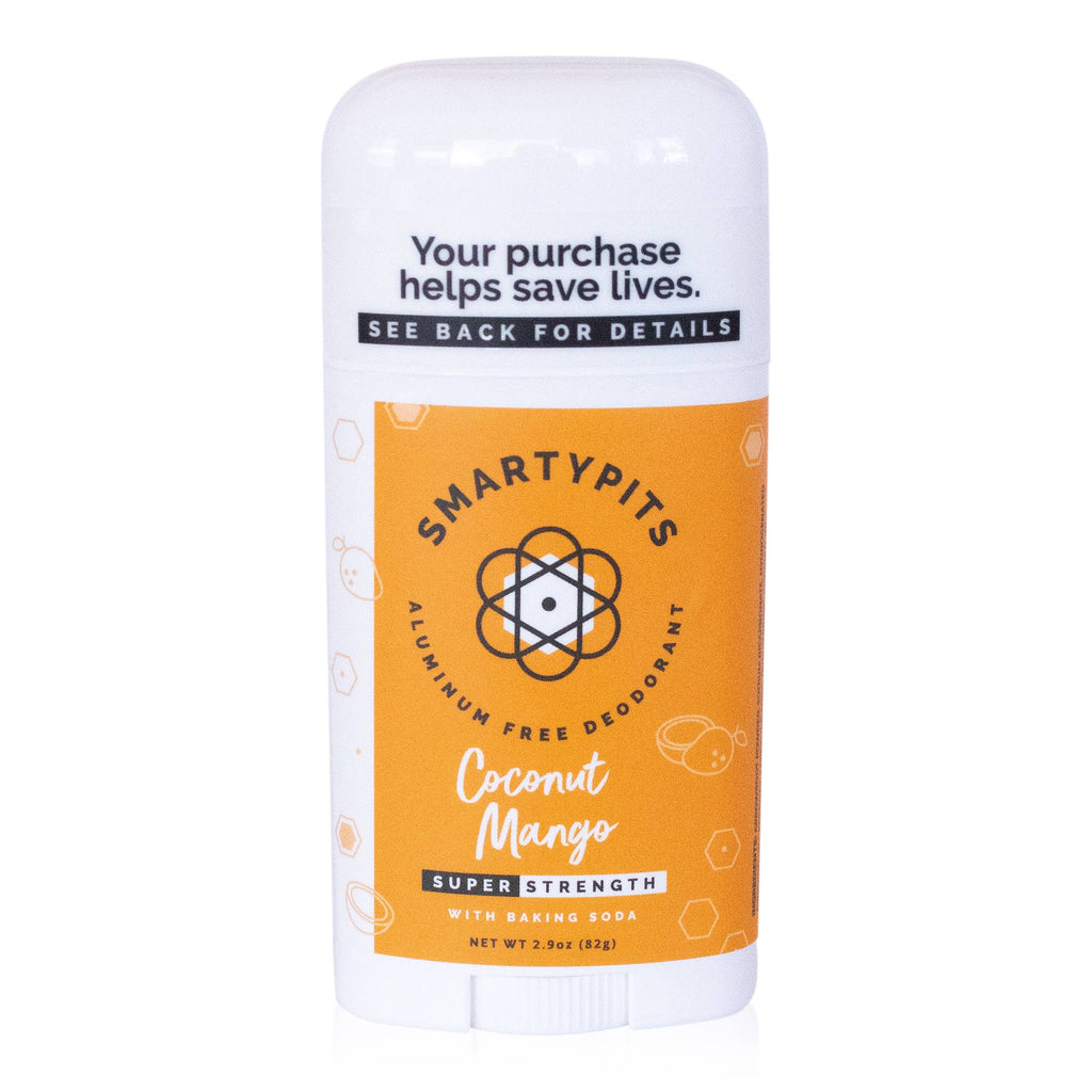 SmartyPits - Coconut Mango | Standard Formula with Baking Soda