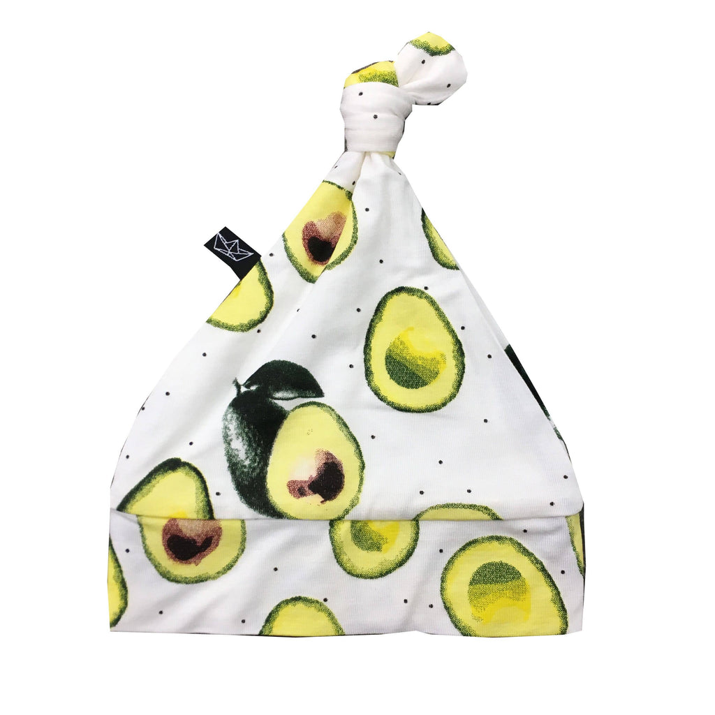 Peregrine Kidswear - Avocado Bamboo Knotted Hat