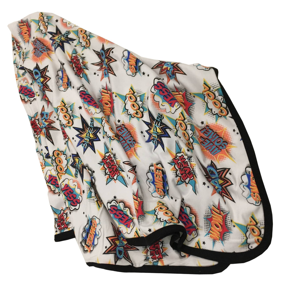 Peregrine Kidswear - Comic Bamboo Everywhere Blanket