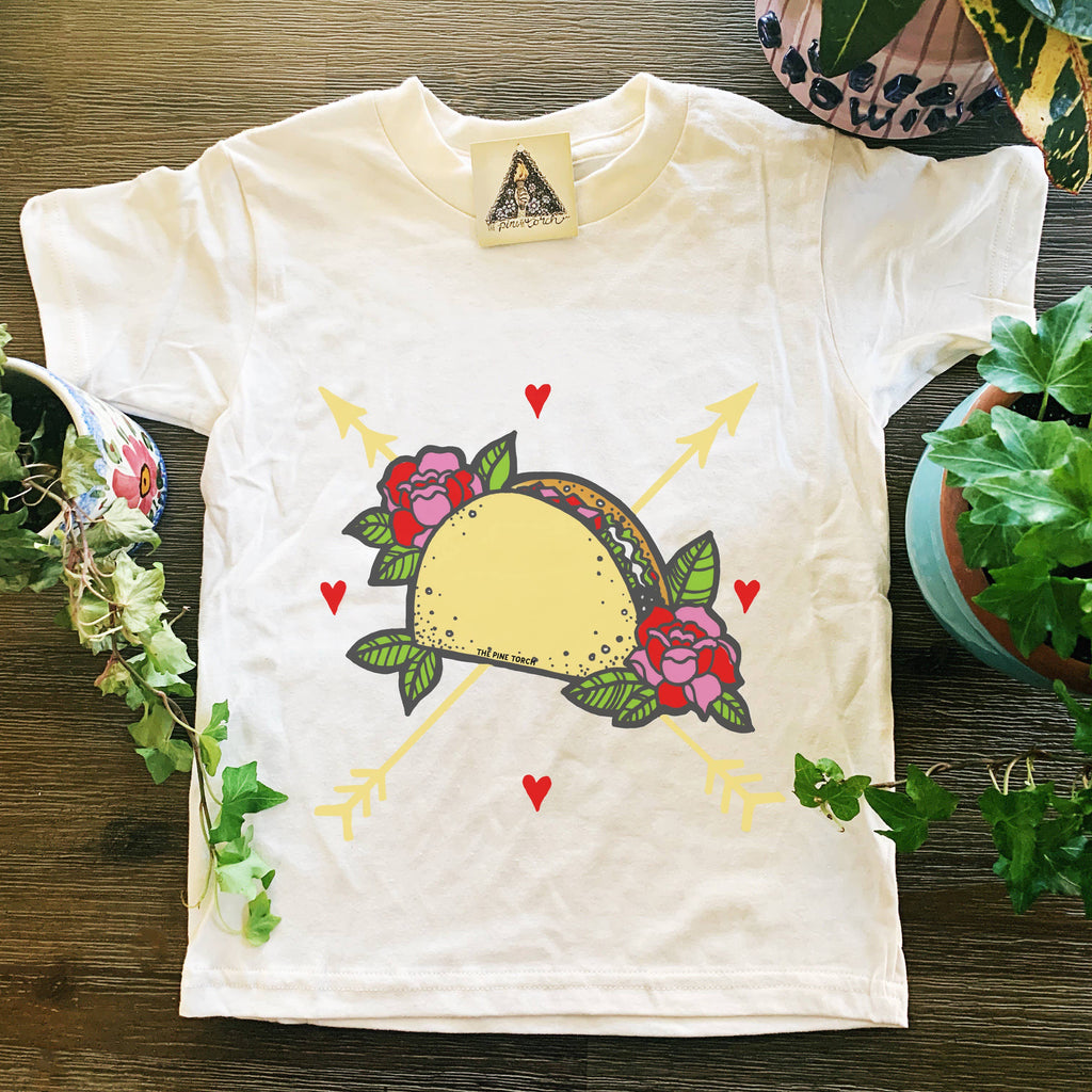 The Pine Torch - Taco Love Kids Tee