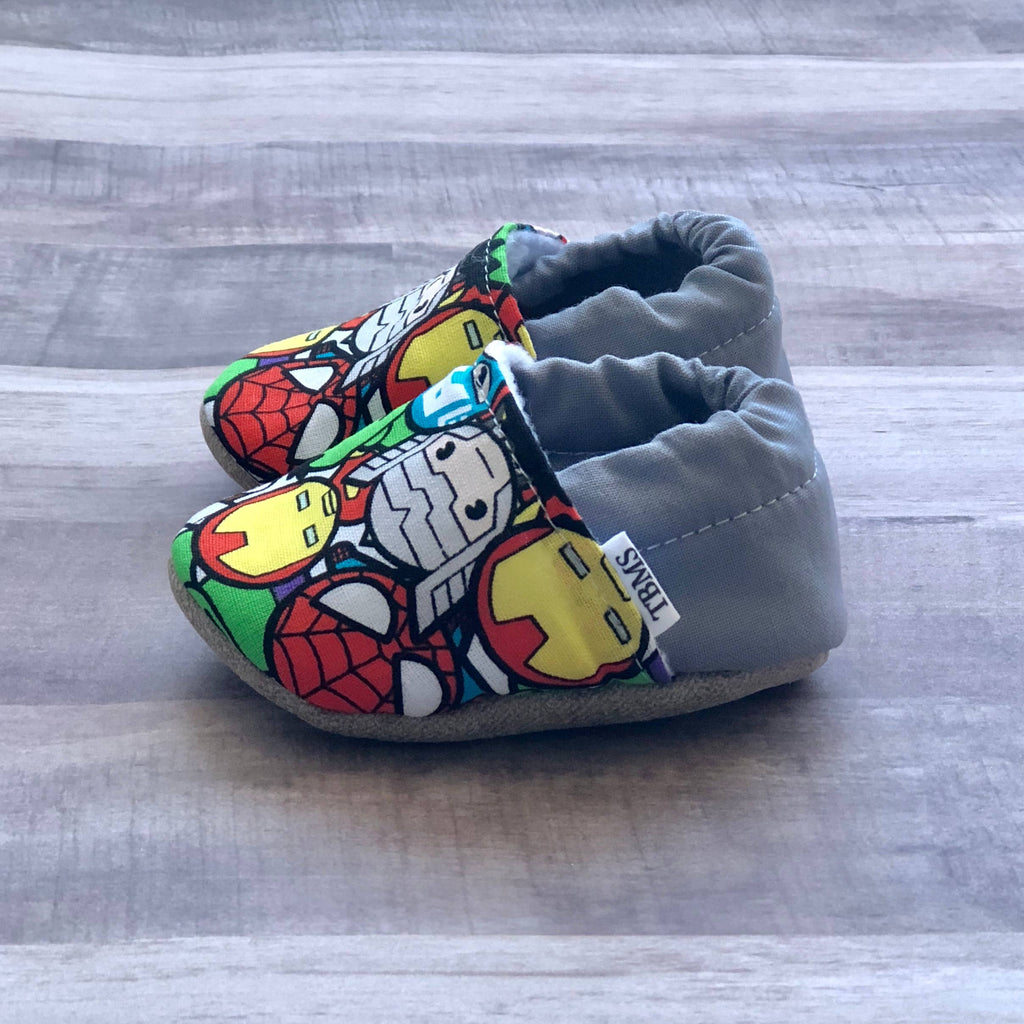 Trendy Baby Mocc Shop - Avengers Low Tops