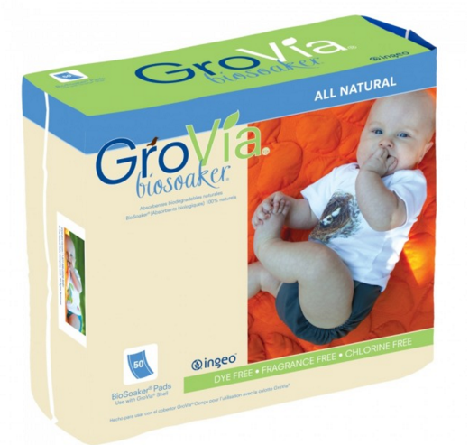 GroVia - BioSoaker 50 Count One-Size