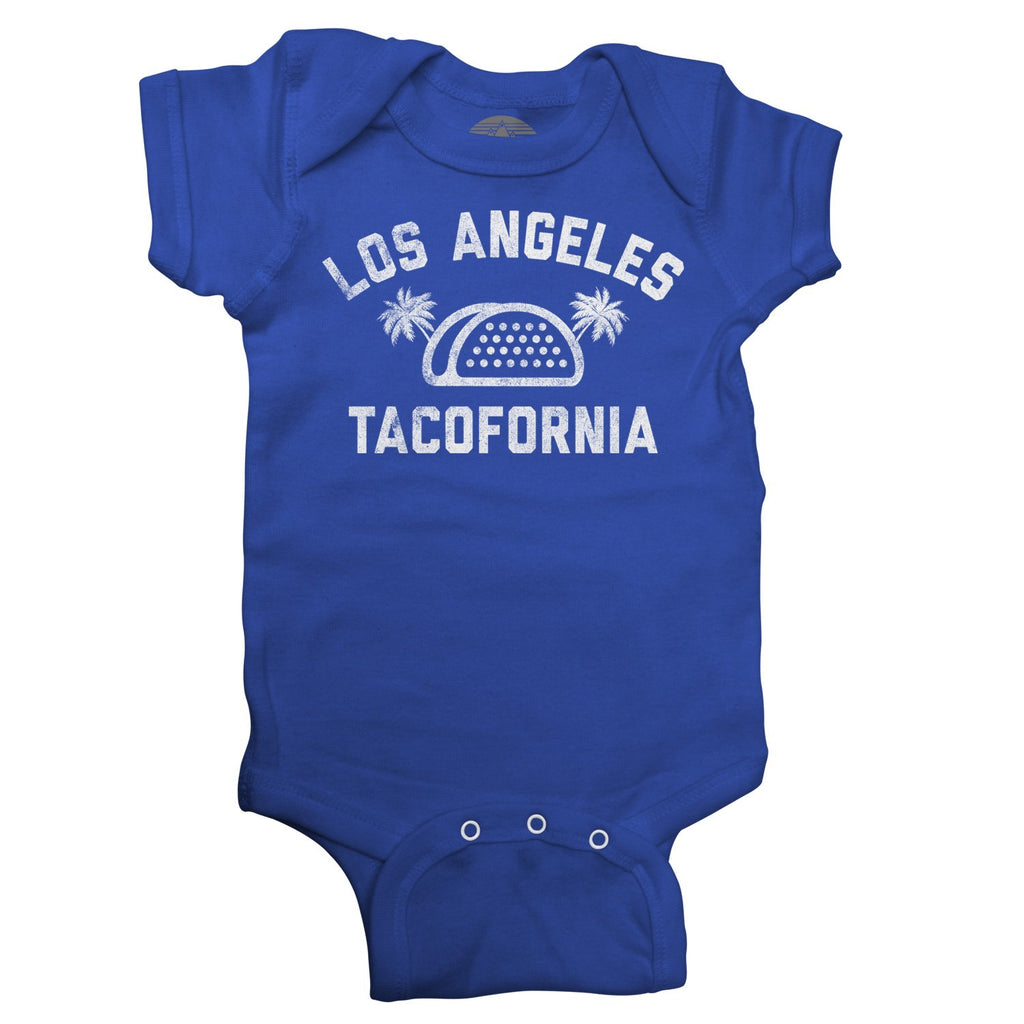 Boredwalk - Los Angeles Tacofornia Infant Bodysuit - Unisex Fit