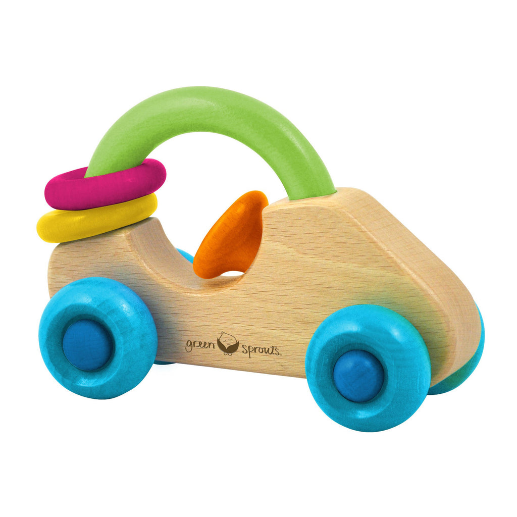 i play - Car Rattle made from Sustainable Wood