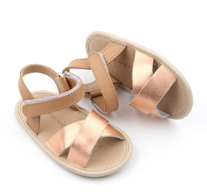 Consciously Baby - Flex-Rubber Sole Baby Leather Sandal | Ref 'Phi Phi'