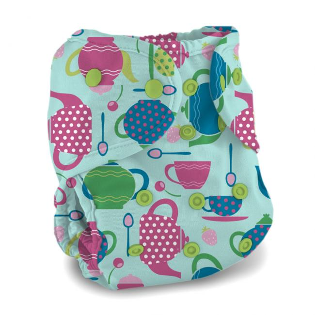 Buttons Diaper Cover - One Size