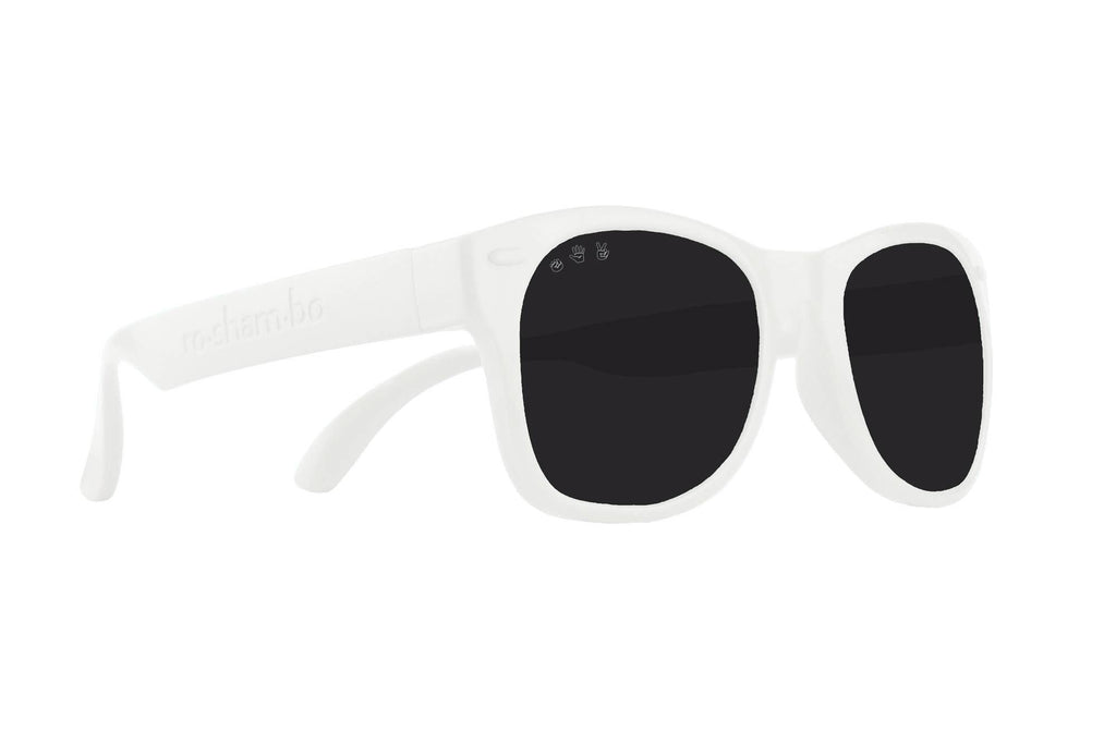 Roshambo Baby - Ice Ice Baby White Toddler Sunglasses