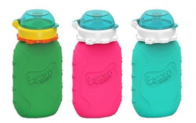 Squeasy Gear - Silicone Reusable Food Pouches