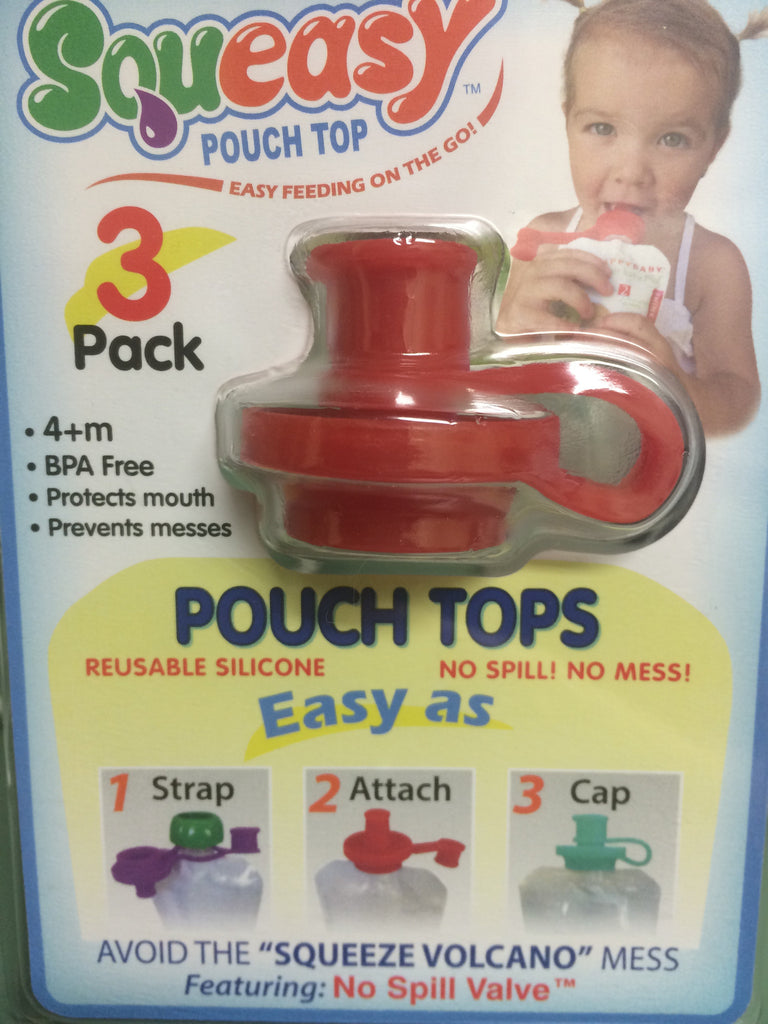 Squeasy Gear Food Pouch Tops
