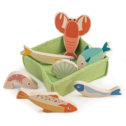 Tender Leaf Toys Fish Crate