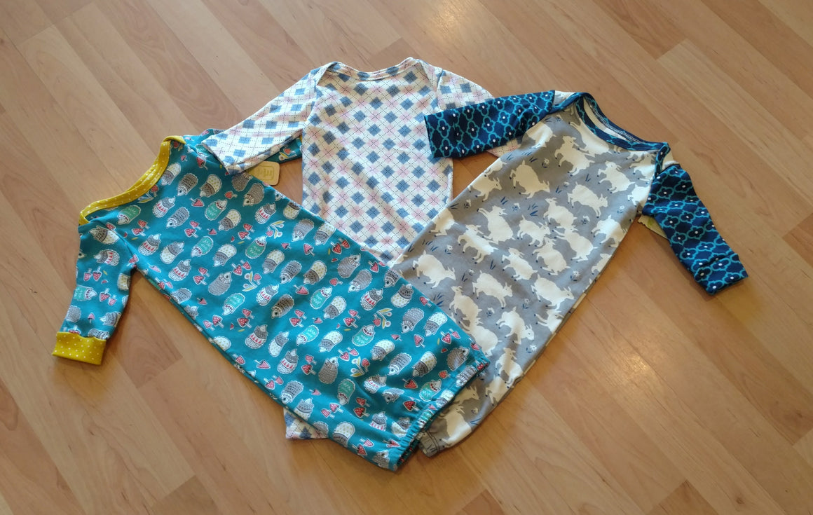 Pickled Pear Tree Baby Gown Sleep Sack