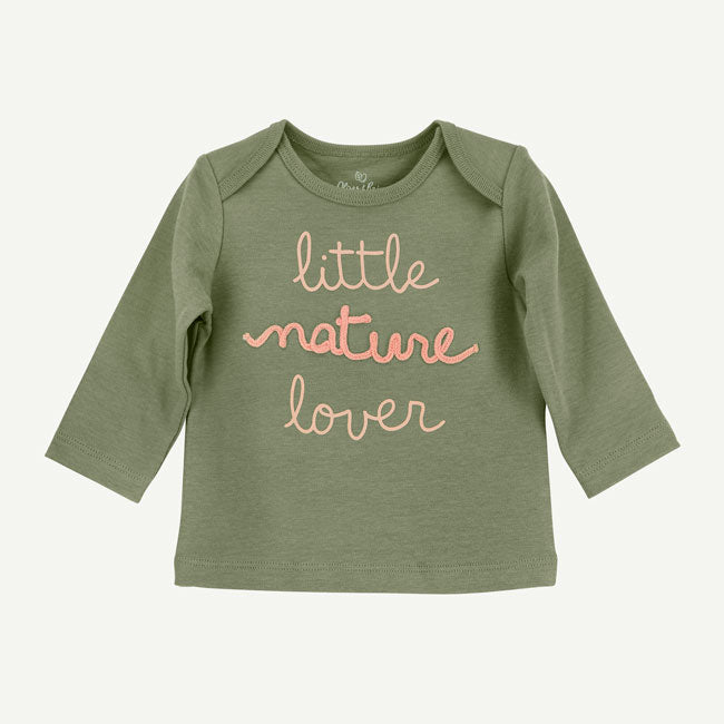 Soft Green Long Sleeve Tee