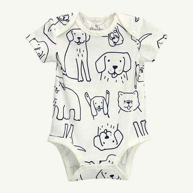 Oliver & Rain Organic Short Sleeve Body Suit