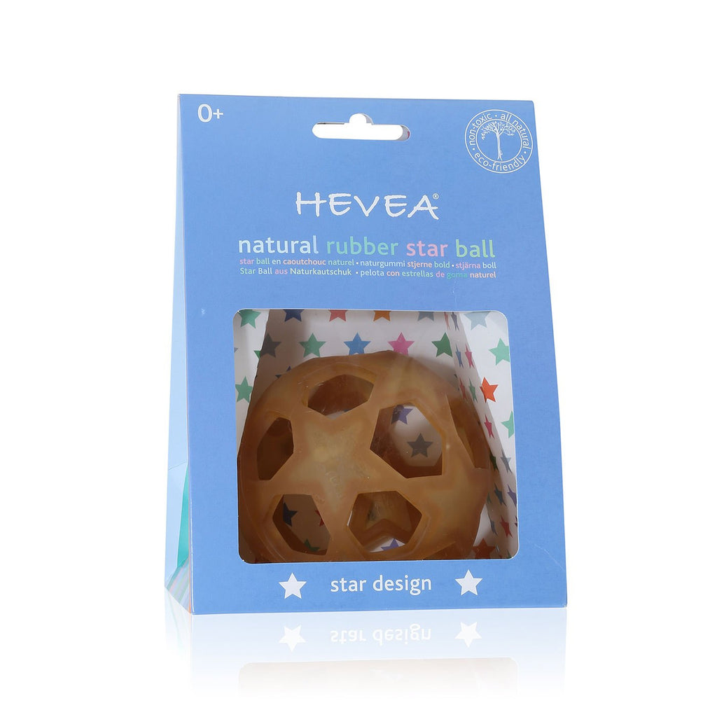 Hevea Planet - STAR BALL NATURAL