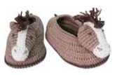 Albetta New Born Booties