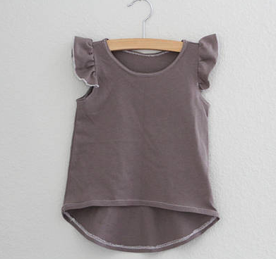The Sprouted Arrow - Organic Ruffle Sleeve Tee