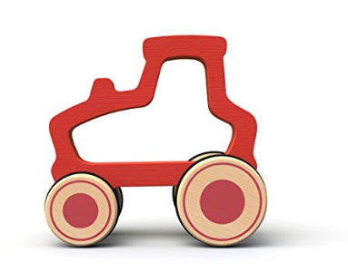BeginAgain Toys Push Around Tractor