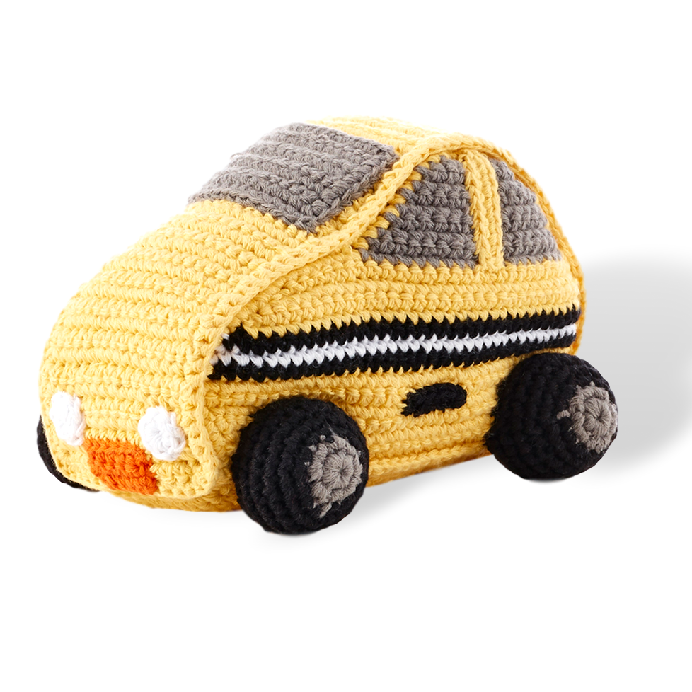 Pebble Car Rattle Taxi