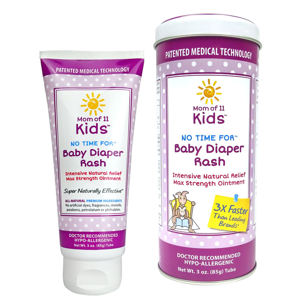 Mom of 11 kids - No Time for Baby Diaper Rash