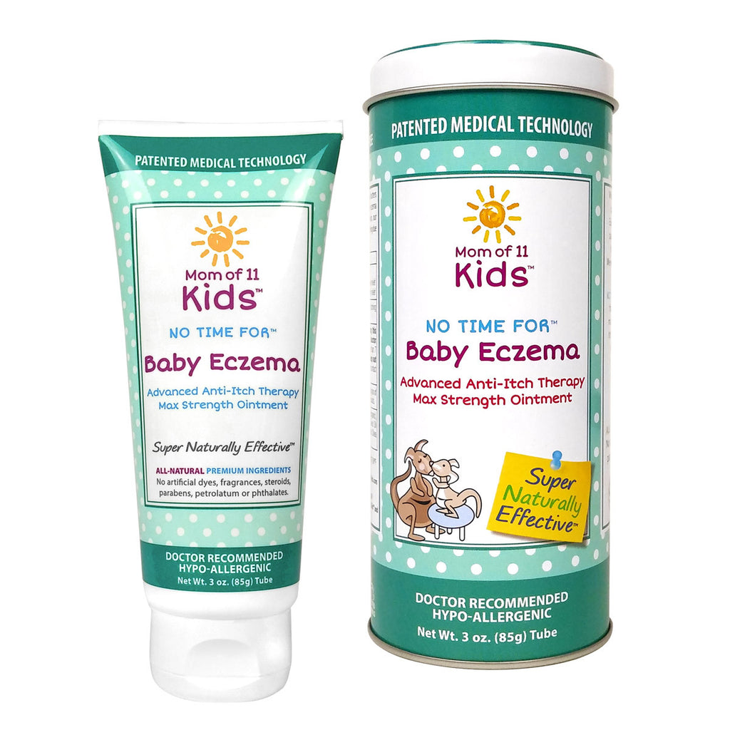 Mom of 11 kids - No Time for Baby Eczema