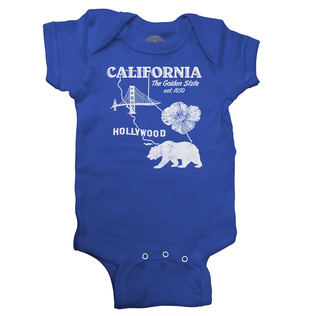 Boredwalk - California Infant Bodysuit - Unisex Fit