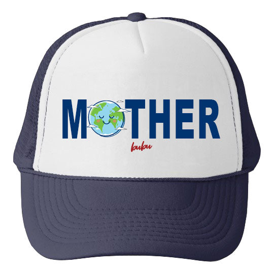 Bubu - Mother Earth White / Navy