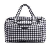 Ju-Ju-Be Gingham, Black and Bloom, Gingham Bloom